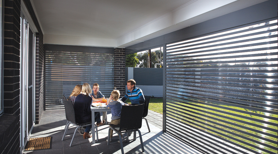 AllStyle Roller Shutters easy view